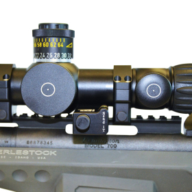 LRA Send iT Electronic Shooting Level with Spirit Level Mounted