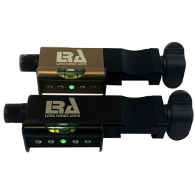 LRA Send iT Electronic Shooting Level with Spirit Level Top View