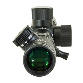 Hi-Lux XTC Service Rifle Scope 1-4x34mm  View Front