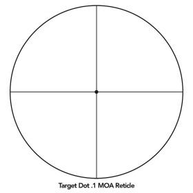 Sightron SIII Long Range 10-50x60 Scope Side Focus Target Dot Crosshair
