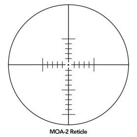 Sightron SIII Long Range 10-50x60 Side Focus MOA-2 Reticle Scope Crosshair