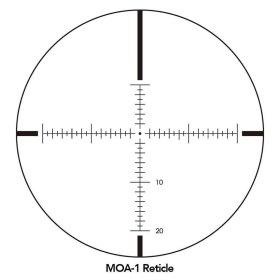 Sightron SIII Long Range 8-32x56 Side Focus MOA-1 Reticle Scope Crosshair