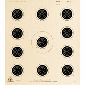 50ft Rifle Conventional A-17 Smallbore Target