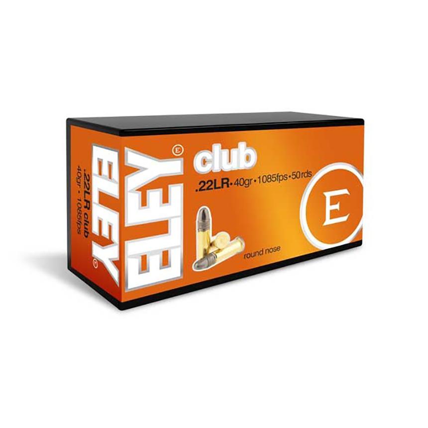 Eley Club .22 LR Ammunition