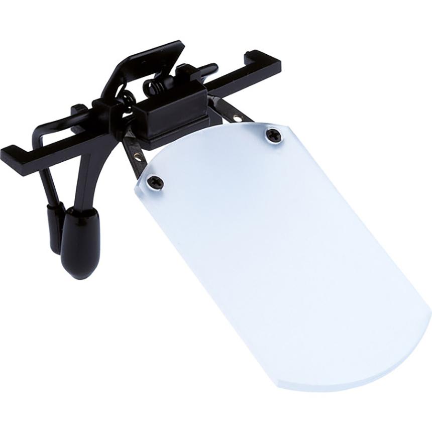 Gehmann White Clip-on Eyeshield