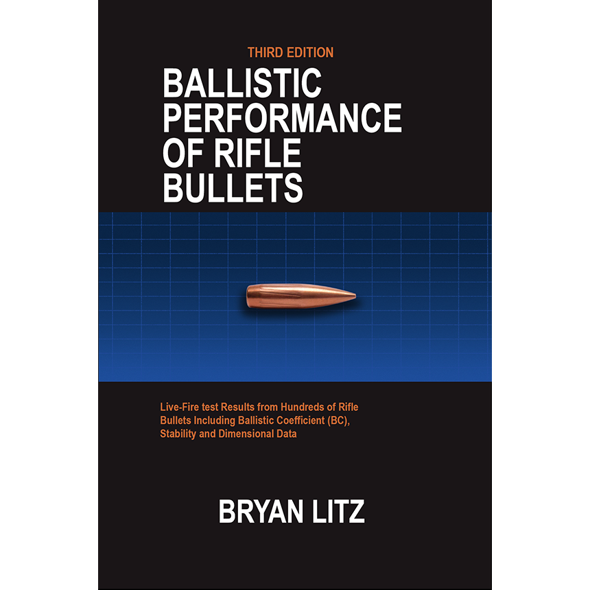3rd Edition Ballistic Performance Of Rifle Bullets