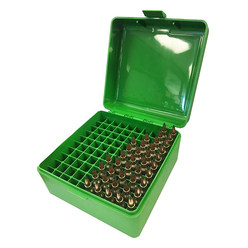 MTM RS-100 Rifle Ammo Box Green
