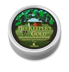 Natural Beeswax & Mineral Oil Wood Preserver