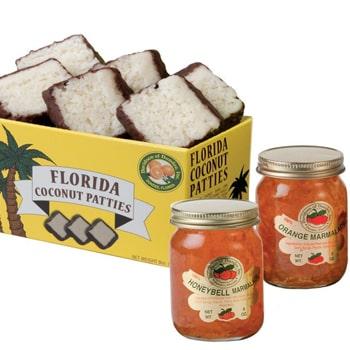 2 jars of marmalades + 6 Coconut Patties (JDX)