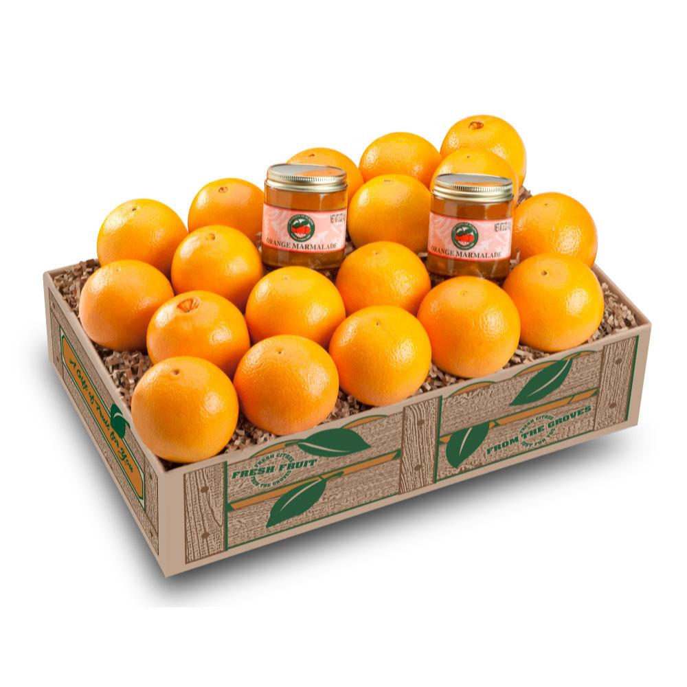 Navel Sweeties with Marmalade