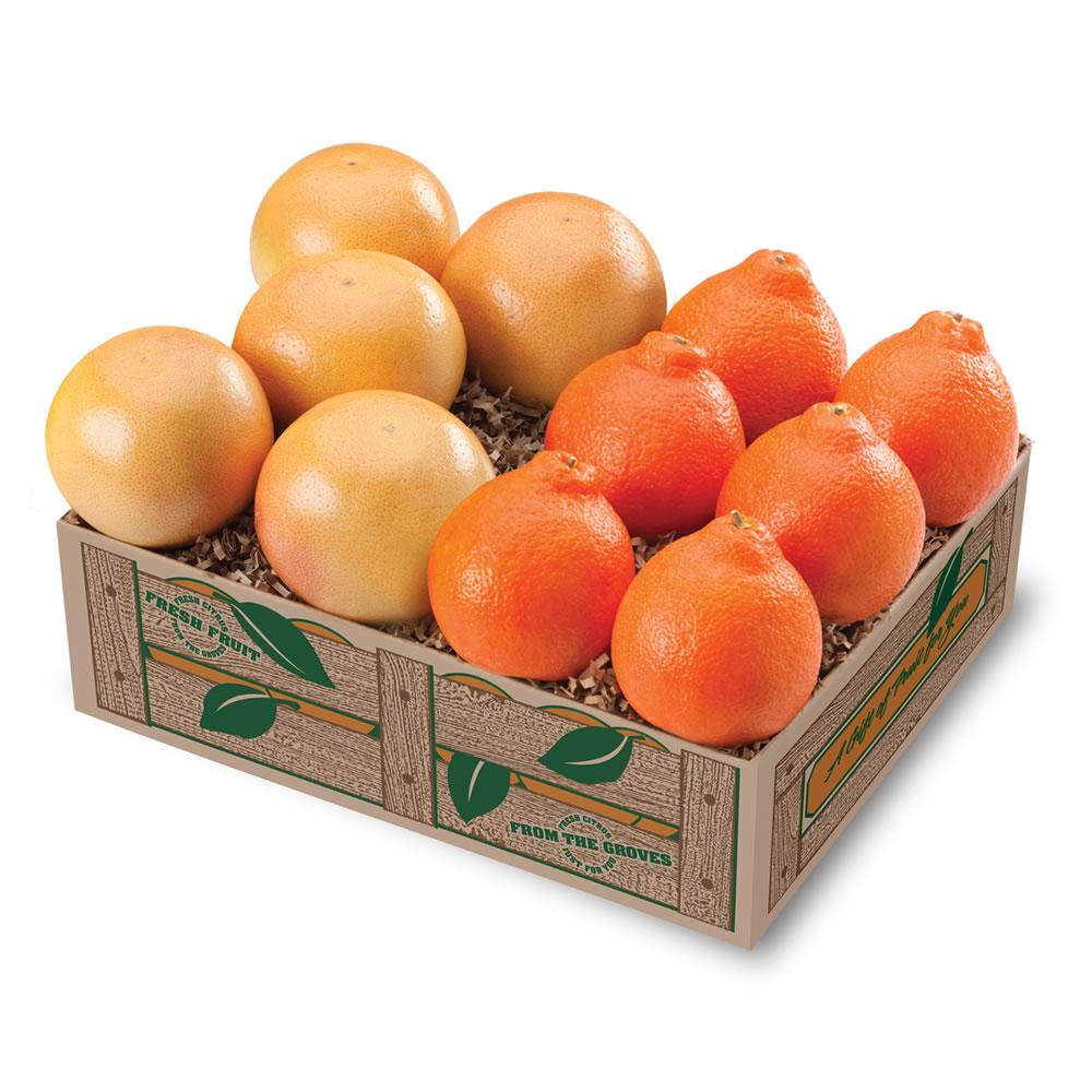Honeybells & Red Grapefruit