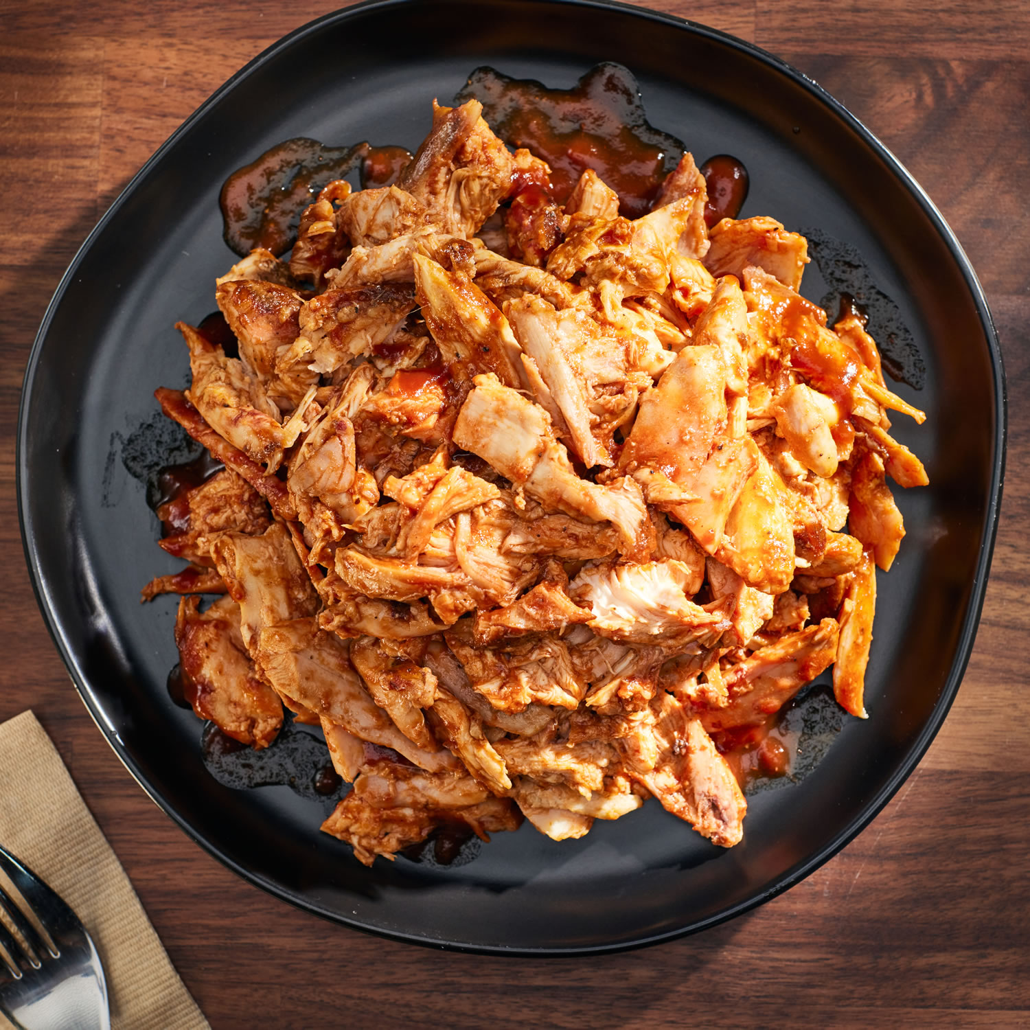 BBQ Pulled Chicken 5 to 9 (1 lb) Packs