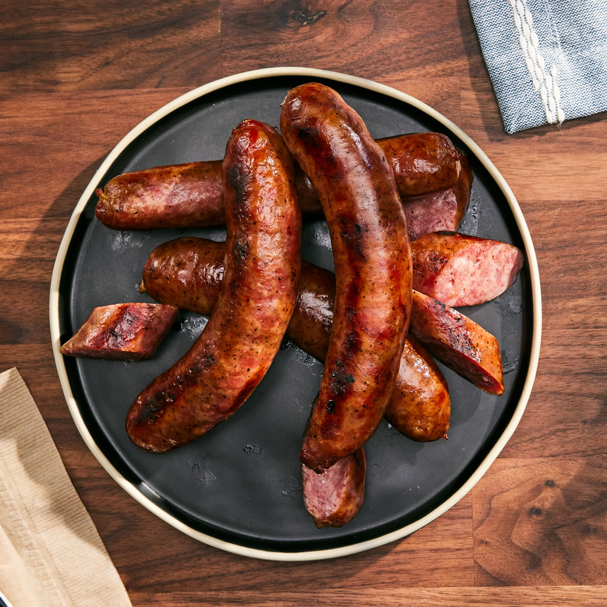 Barbecue Sausage 3 to 7 (1 lb) Packs