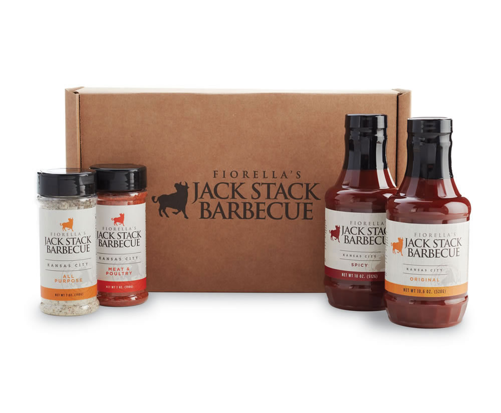 Sauce & Rub Four Pack