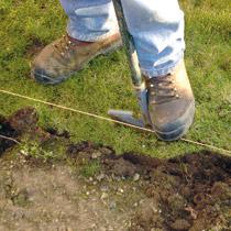 Lawn Edging - Step 1 - Get A Fresh Edge
