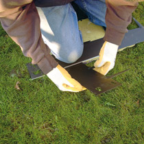 Lawn Edging - Step 6 - Bend Into Shape