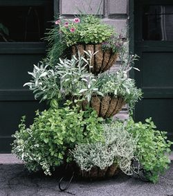 Three Tiered Cascade Planter and Liner Set