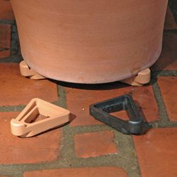 Terracotta (Colored) Pot Toes
