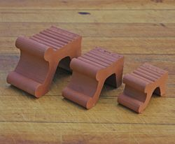 Small Victorian Pot Feet