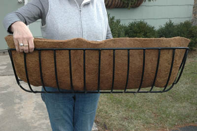 "24"" Hayrack Coco Liner (For KC16 Planter)"