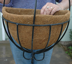 Coco Fiber Liner For 14 Inch Spanish or Peacock Wall Baskets