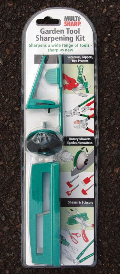 Garden Tool Sharpening Kit