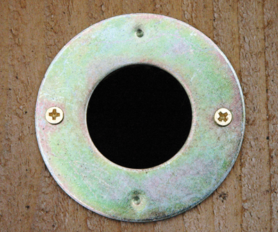 1 1/2 Inch Hole Protector For Wooden Birdhouses