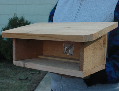 Cedar Shelter For Standard Mason Bee Houses (Empty)