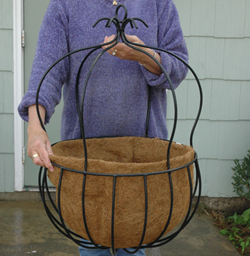 Coco Fiber Liner for 14 Inch Imperial Hanging Basket