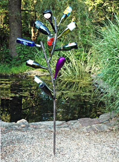 Fabulous Fun Bottle Tree