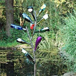 Fabulous Fun Bottle Tree Bottle Tree Kinsman Garden Company