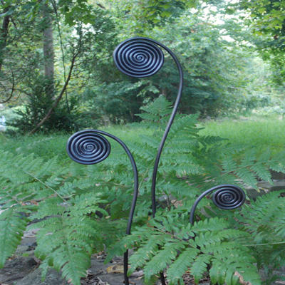 Fiddlehead Fern Stakes (Set of 3)