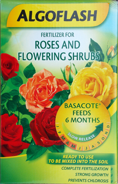 Algoflash Rose and Flowering Shrub Fertilizer