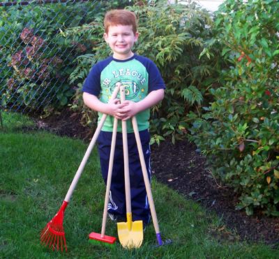 Kid's Garden Tool Set