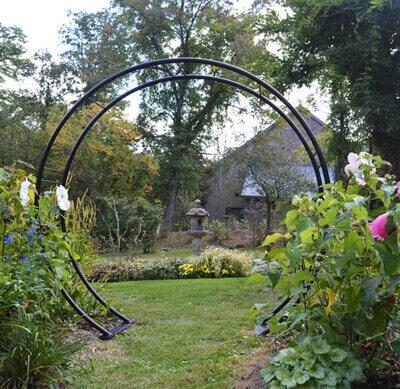 Moon Gate Arch Kinsman Garden