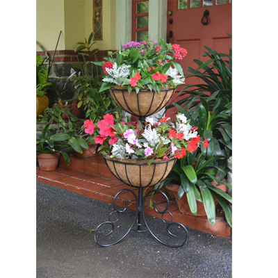 Two-Tier Planter & Liner Set