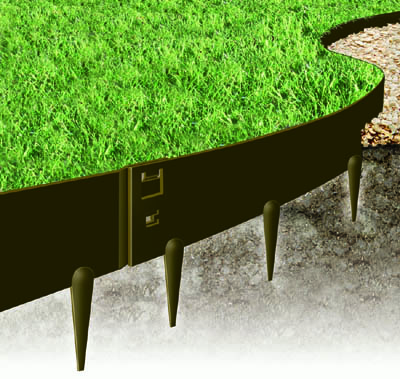 buy everedge heavy duty metal lawn edging kinsman garden