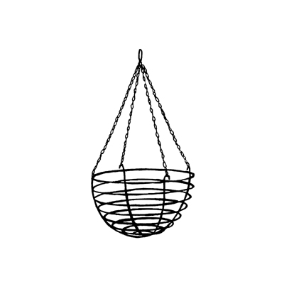 20 Inch Old Fashioned Hanging Basket (Basket Only/No Liner)