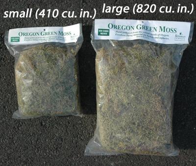 Large Bag Of Oregon Moss