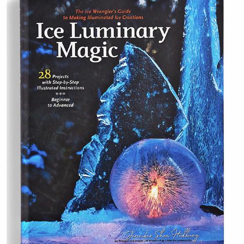 Ice Luminary Magic Book