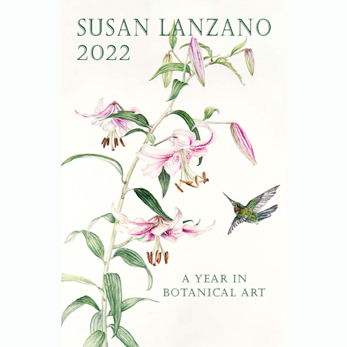 2022 Botanical Flower Wall Calendar by Susan Lanzano