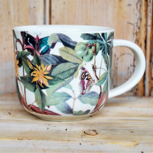 Kew Floral Butterfly Mug