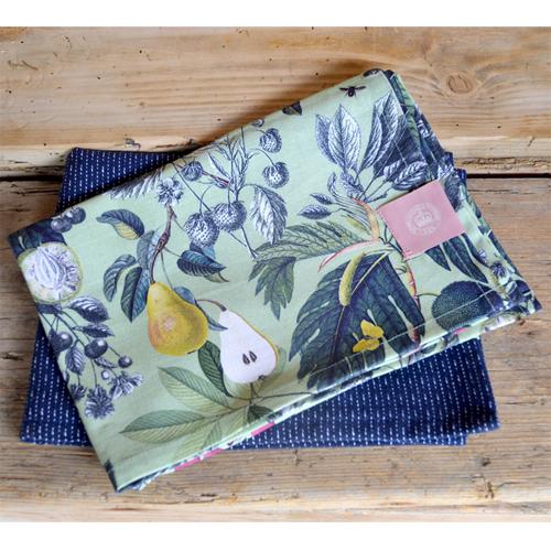 Kew Fruit and Floral Tea Towel