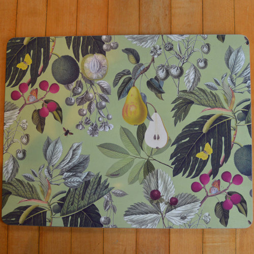 Kew Fruit and Floral Placemats