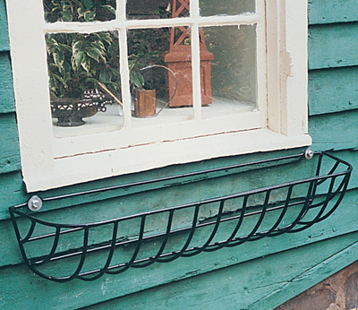 24 Inch Euro Classic Hayrack Planter (Basket Only/No Liner)