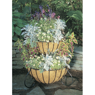 Two Tiered Cascade Planter & Liner Set