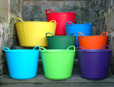 Trug Tubs, Trellises and Baskets