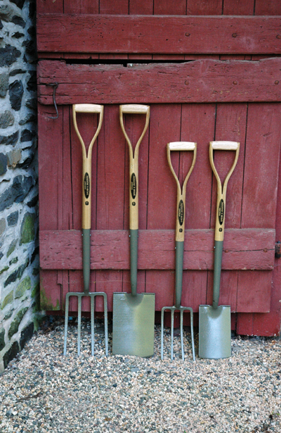 Full Size Garden Tools Steel Garden Fork And Shovel