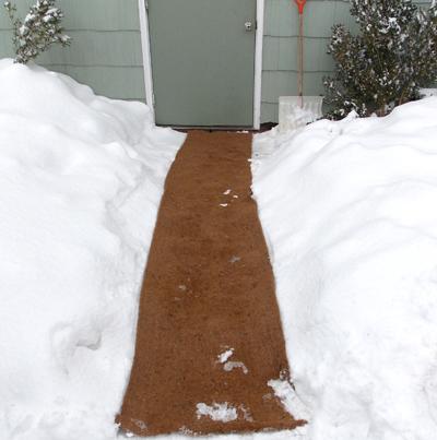 Coco Fiber Mat Non Skid Material Snow Carpet Kinsman Company