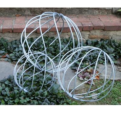 Captivating Metal Garden Spheres